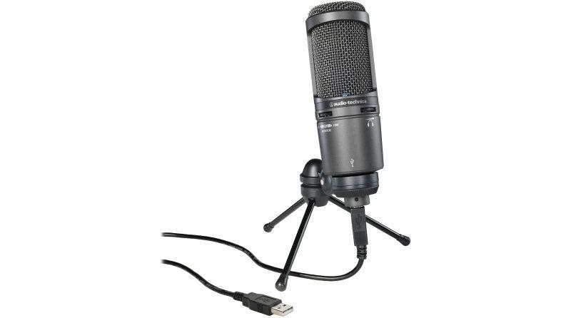 Audio-Technica AT2020USB+ Studio Microphone YouTube