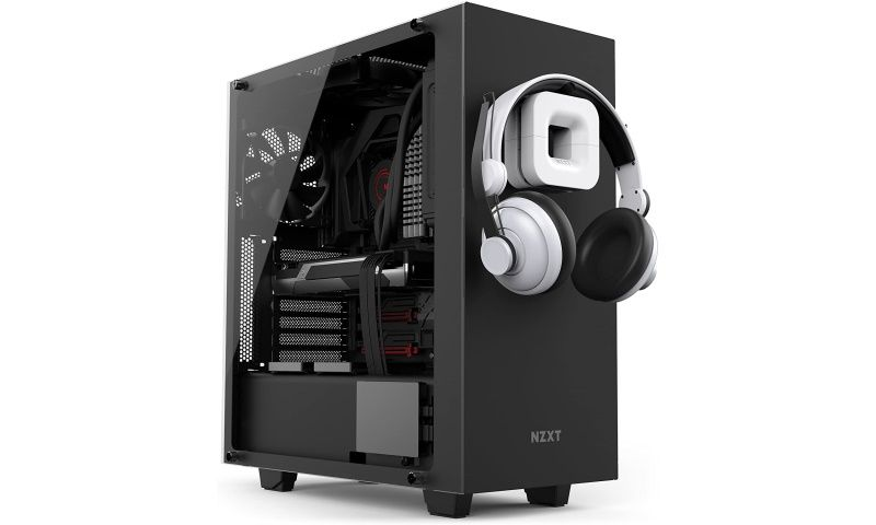 NZXT Headphone Puck Mount Stand Cable Management