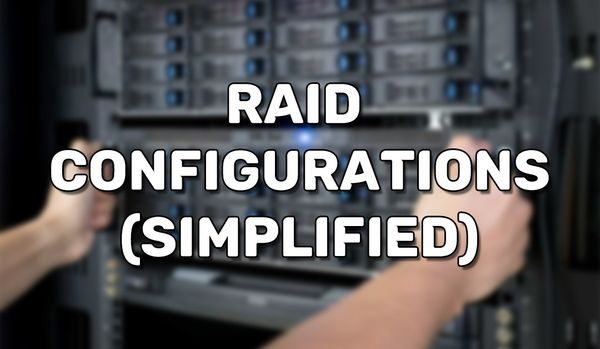 RAID Explained (Simplified)